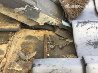 岡山市北区で台風で雨漏り発生 雨漏り修理