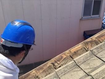 玉野市で雨漏り修理