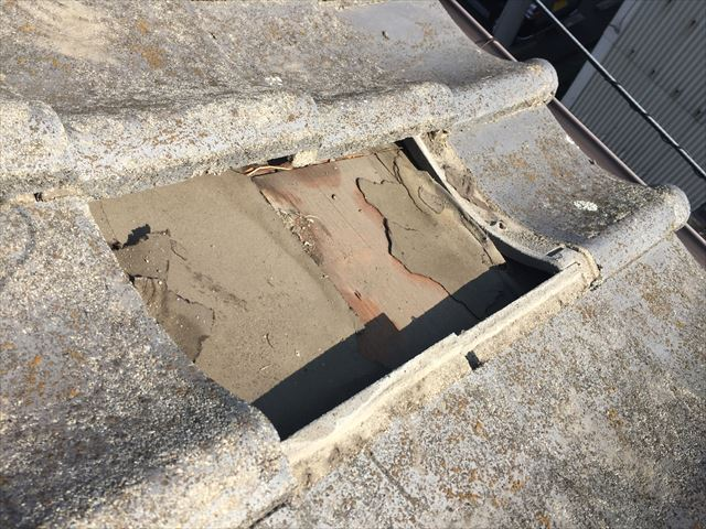 岡山市南区 瓦屋根葺き替え 瓦屋根補修工事