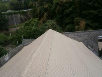 岡山県久米南町 屋根工事 屋根リフォーム 防水シート張り