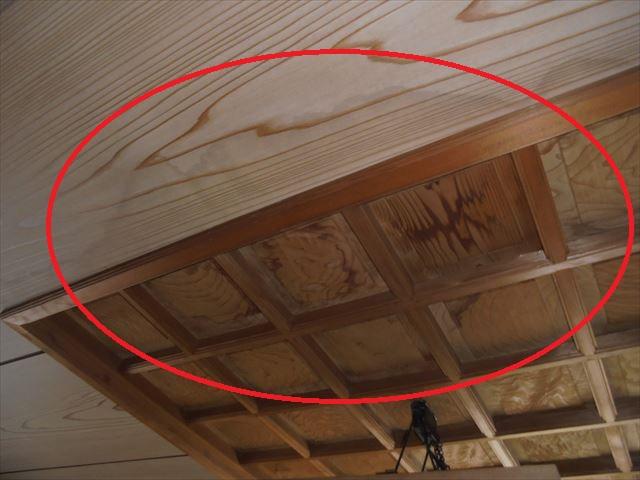 岡山市南区で屋根瓦の点検/天井のシミはメンテナンスのサイン